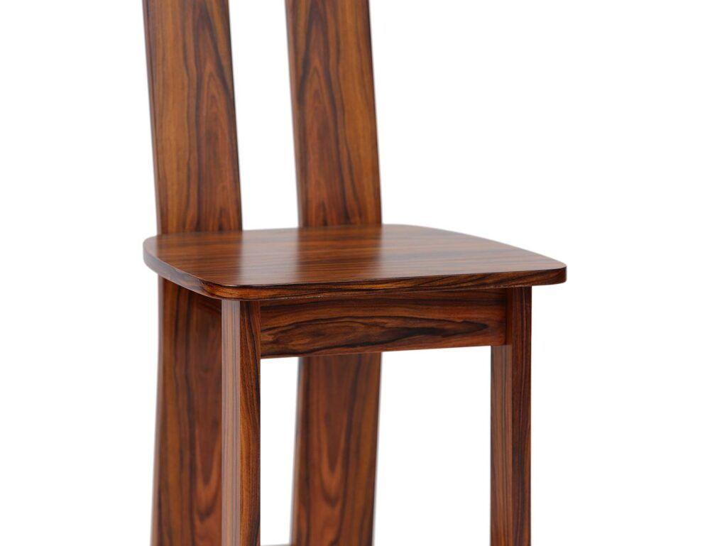 židle z masivu palisandr