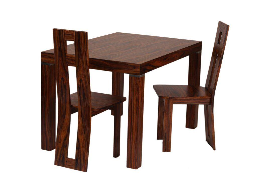 Sestava stolu a židlí palisandr